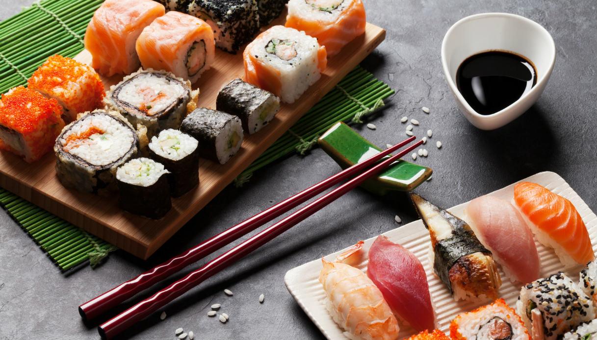 Le salse per il sushi