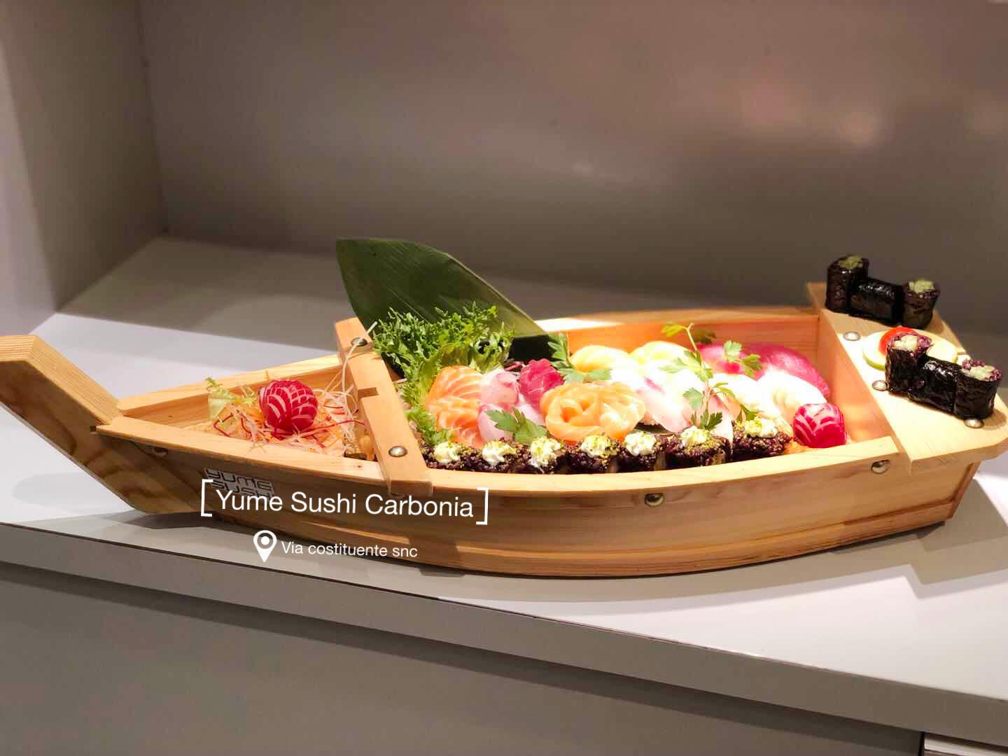 All you can eat - Yume Sushi