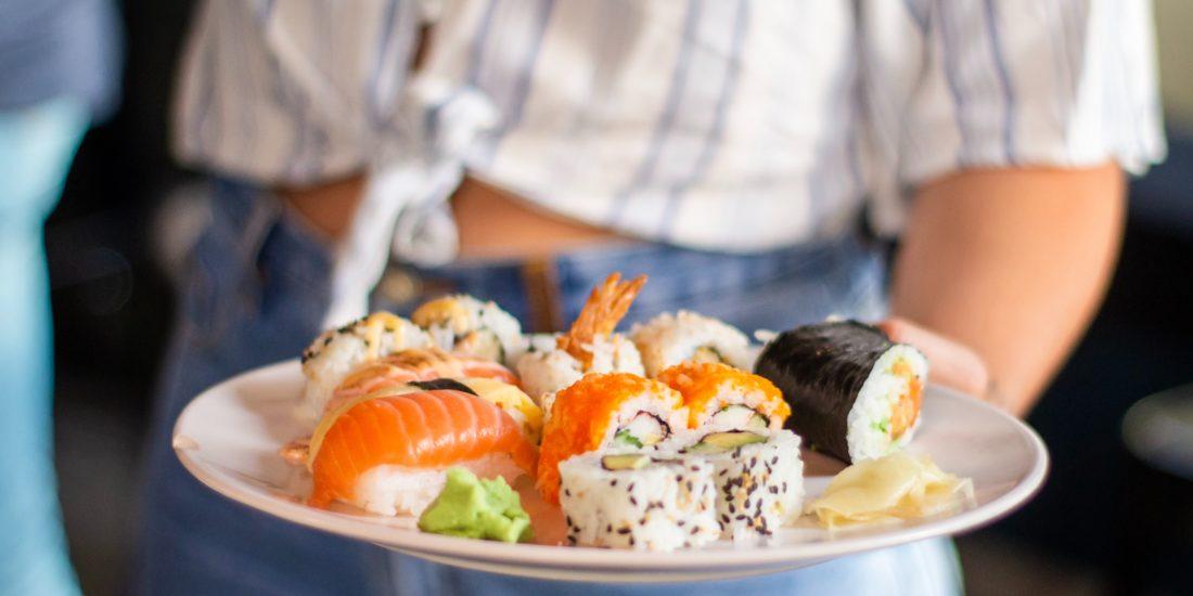 calorie del sushi