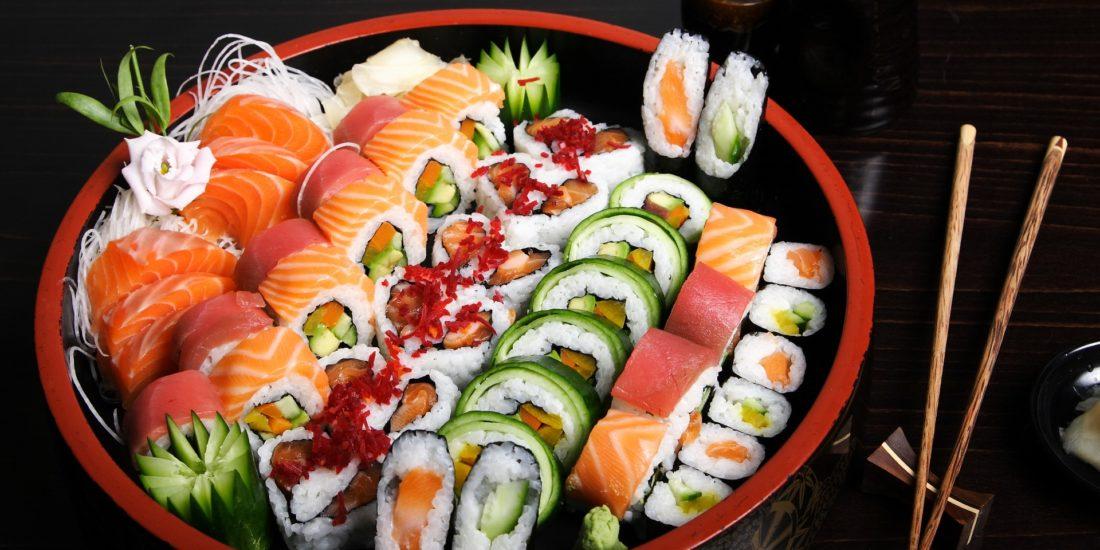 prima volta al sushi